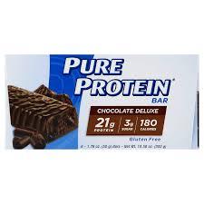 protein snackbar til træning og motion
